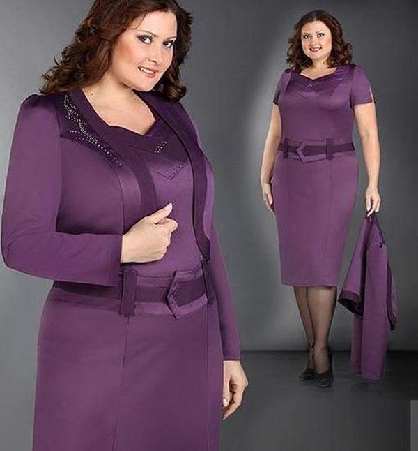 Каталог женского платья больших размеров