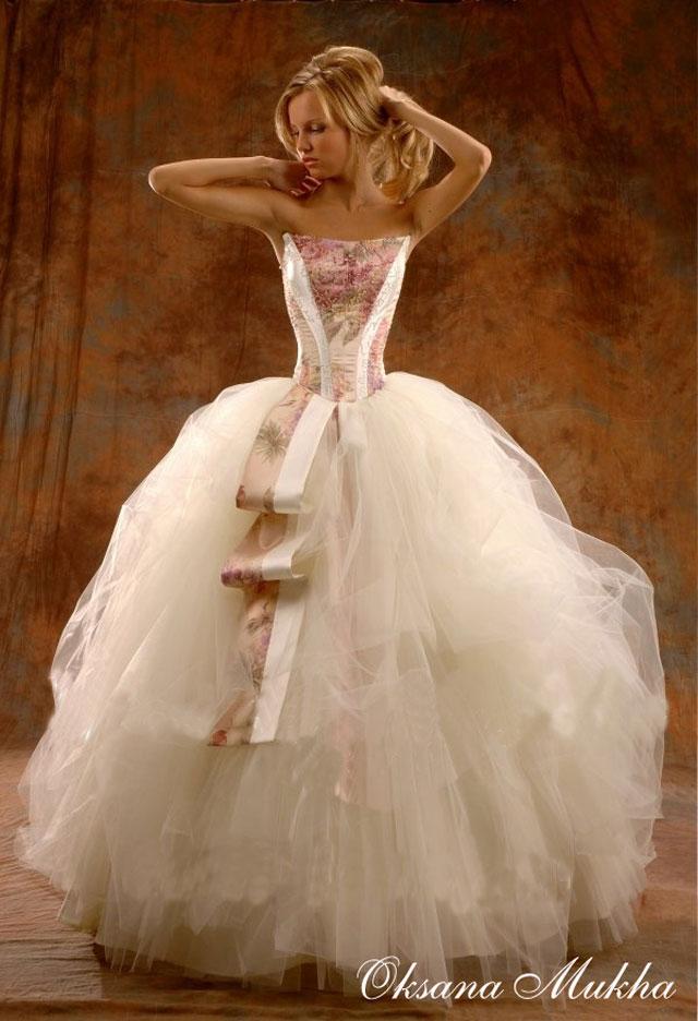 Свадебные платья для полных: пример