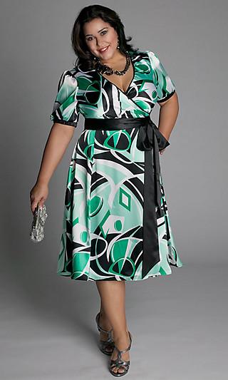 Летнее платье для полной женщины своими руками 74