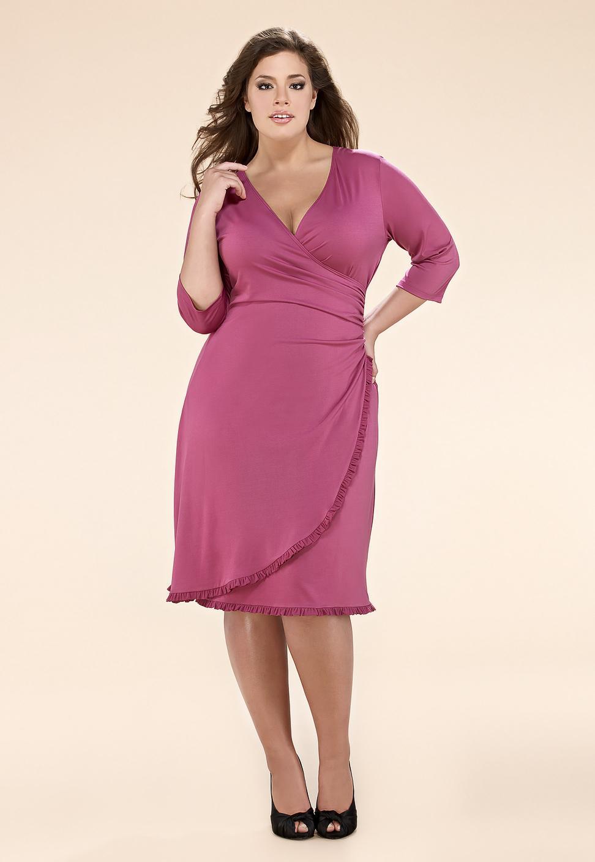 Как сшить платье для полной женщины самой 31