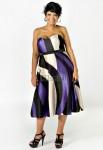 Коктельные платья спокойно могут носить и полные дамы или девушки.