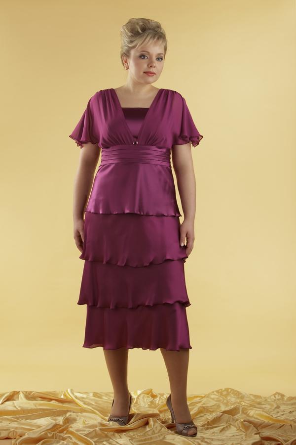 Платье для мамы на свадьбу своими руками