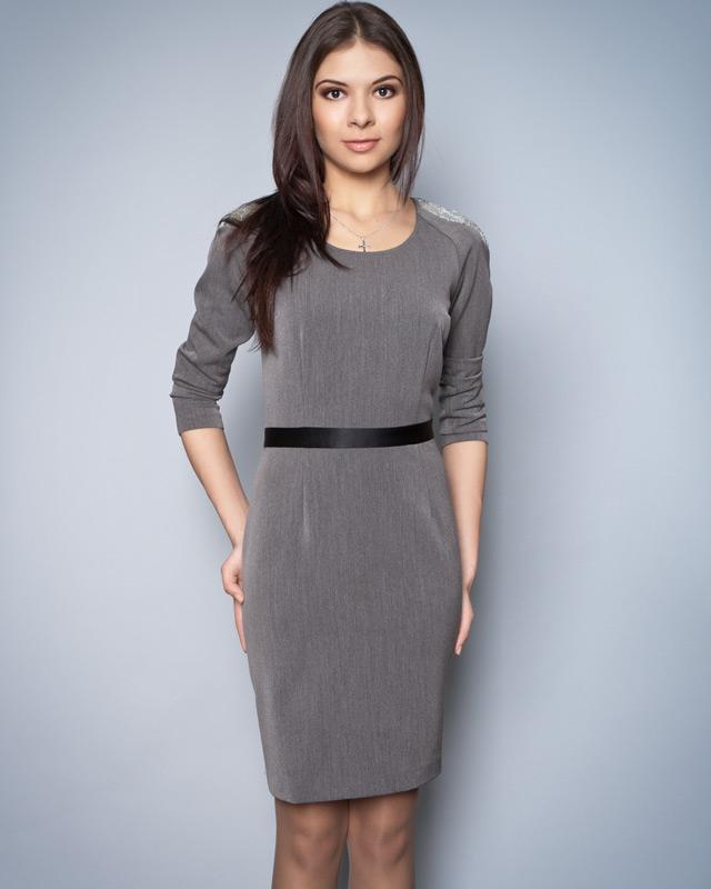платье Классическое черное платье