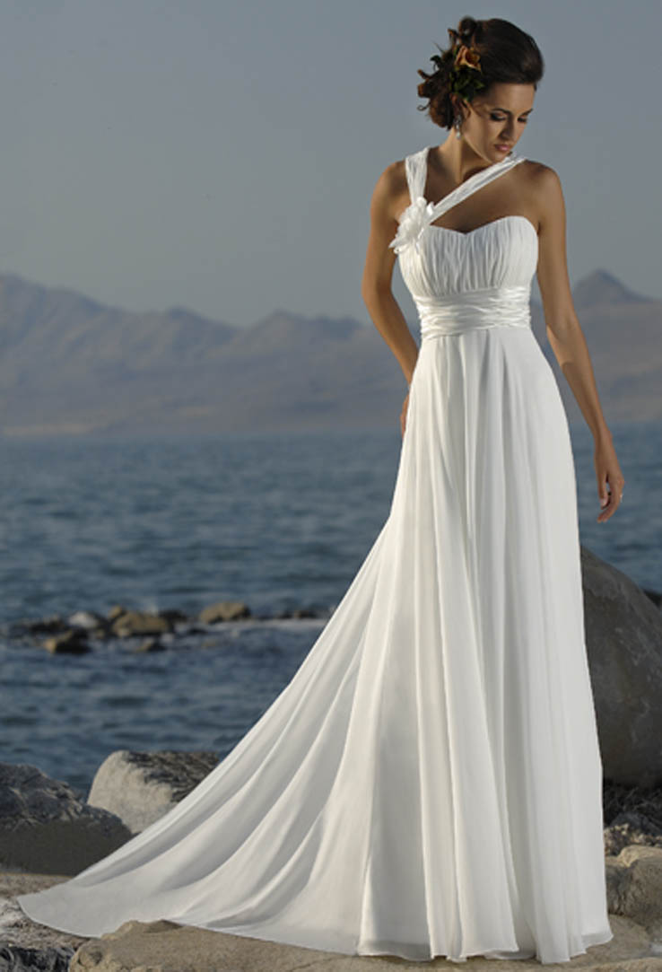 Large women dress articles beach greek style wedding for Greece style wedding dresses