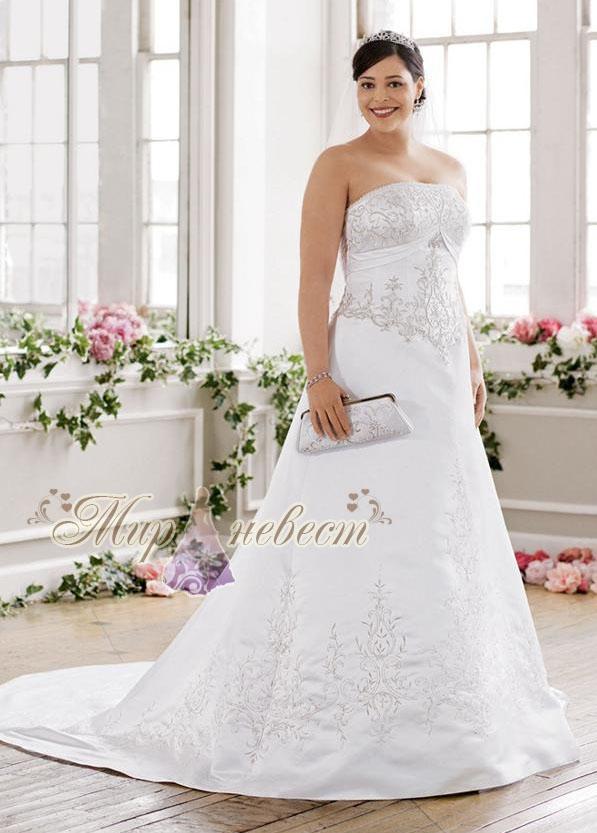 Платья для полных / Интересное / Свадебные платья больших размеров