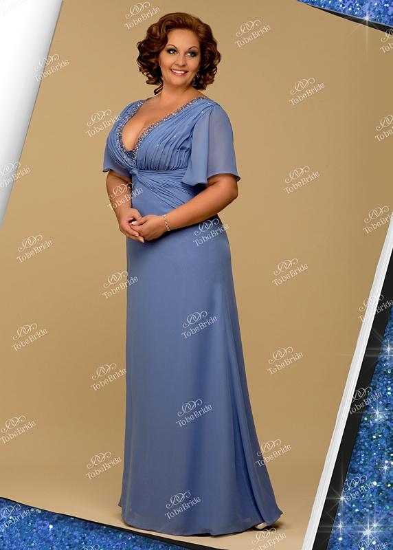 Платья для полных / Интересное / Вечернее платье SL0035B